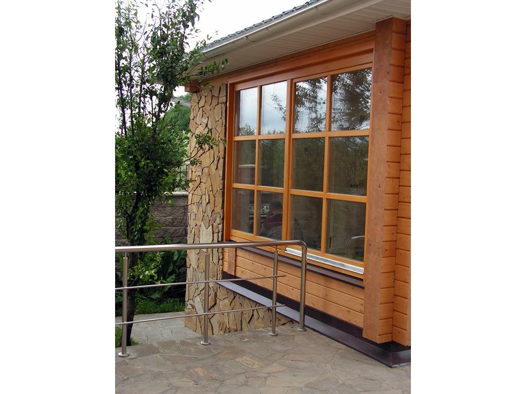 Готовые окна пластиковые для дачи, для загородного дома - це.
